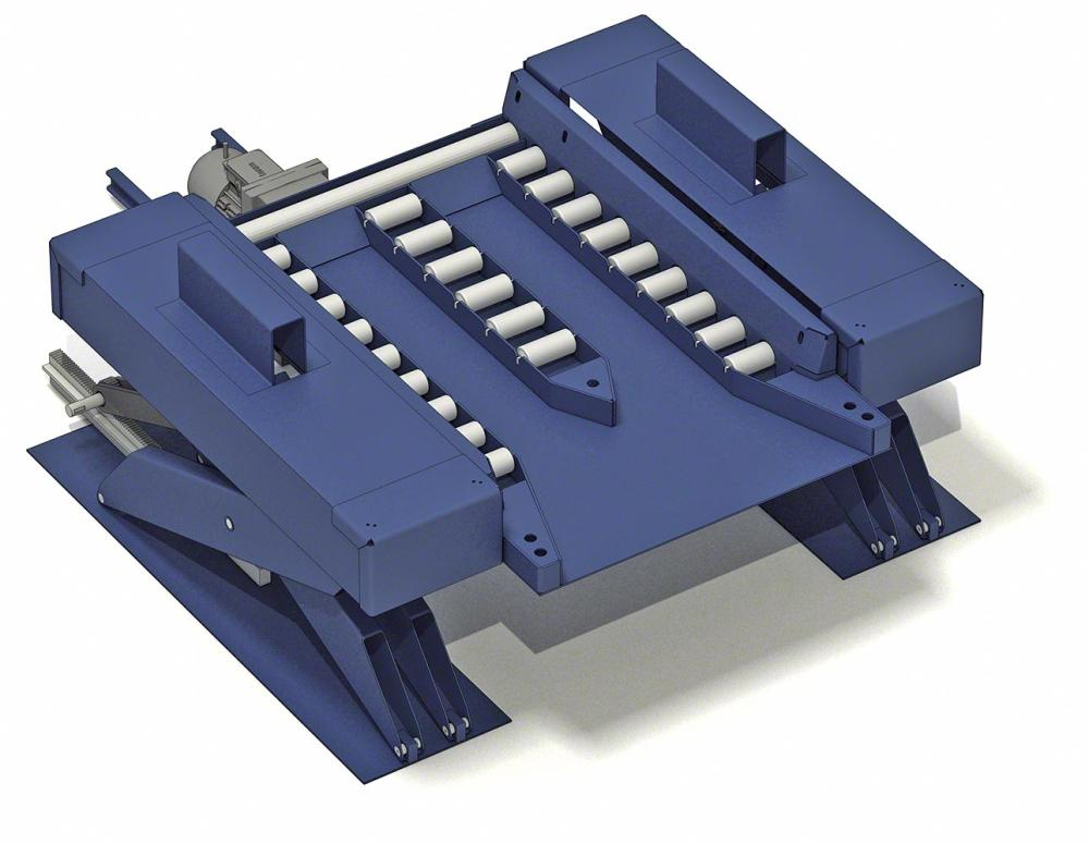 pallet conveyor system | pallet lifter