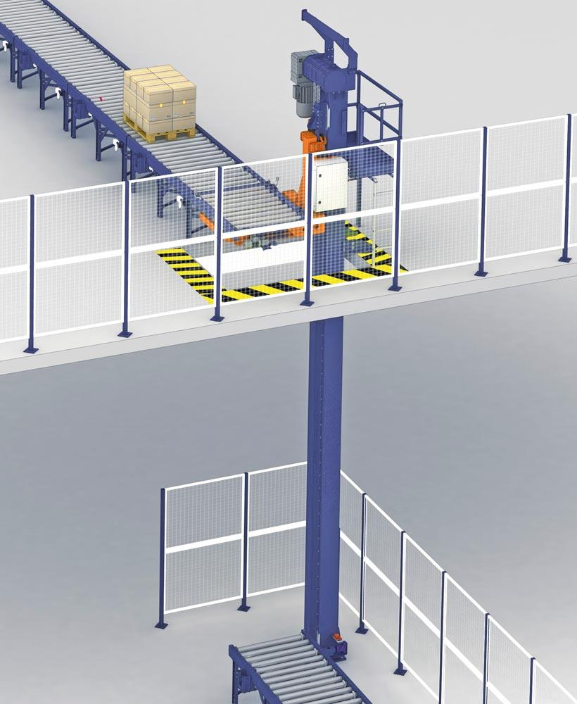 industrial mezzanine floors | production mezzanine floor
