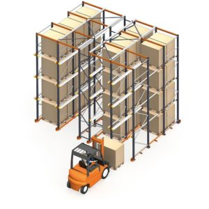 Drive-in racking | drive-in pallet racks | drive-in rack