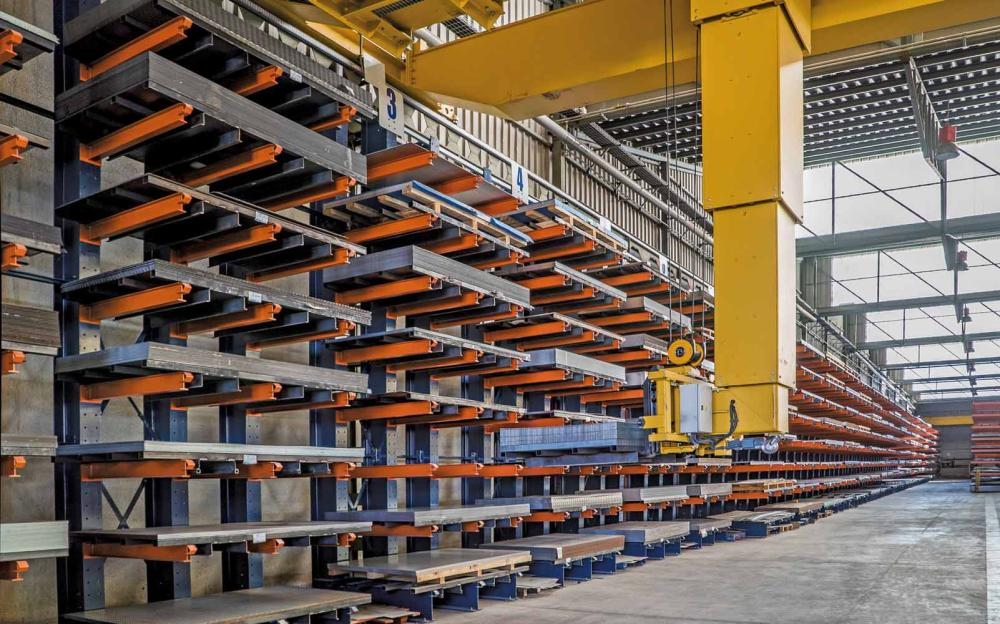 Cantilever Racking | storage racking for off size products