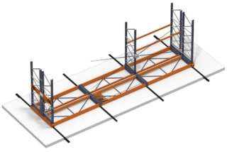 Mobile racks are the optimal system for cold stores (both refrigeration and freezer types).